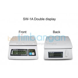 TIMBANGAN DIGITAL CAS-SW 1A CAP 30 KG (Double Display)
