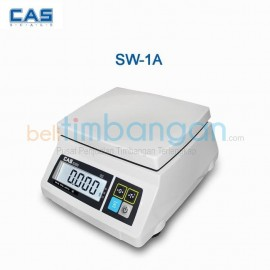 TIMBANGAN DUDUK DIGITAL CAS-SW 1A CAP 6KG (Single Display)